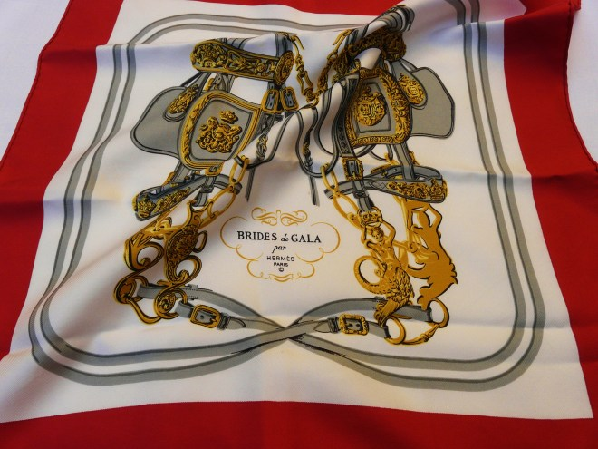 Vintage Hermes Brides de Gala 16