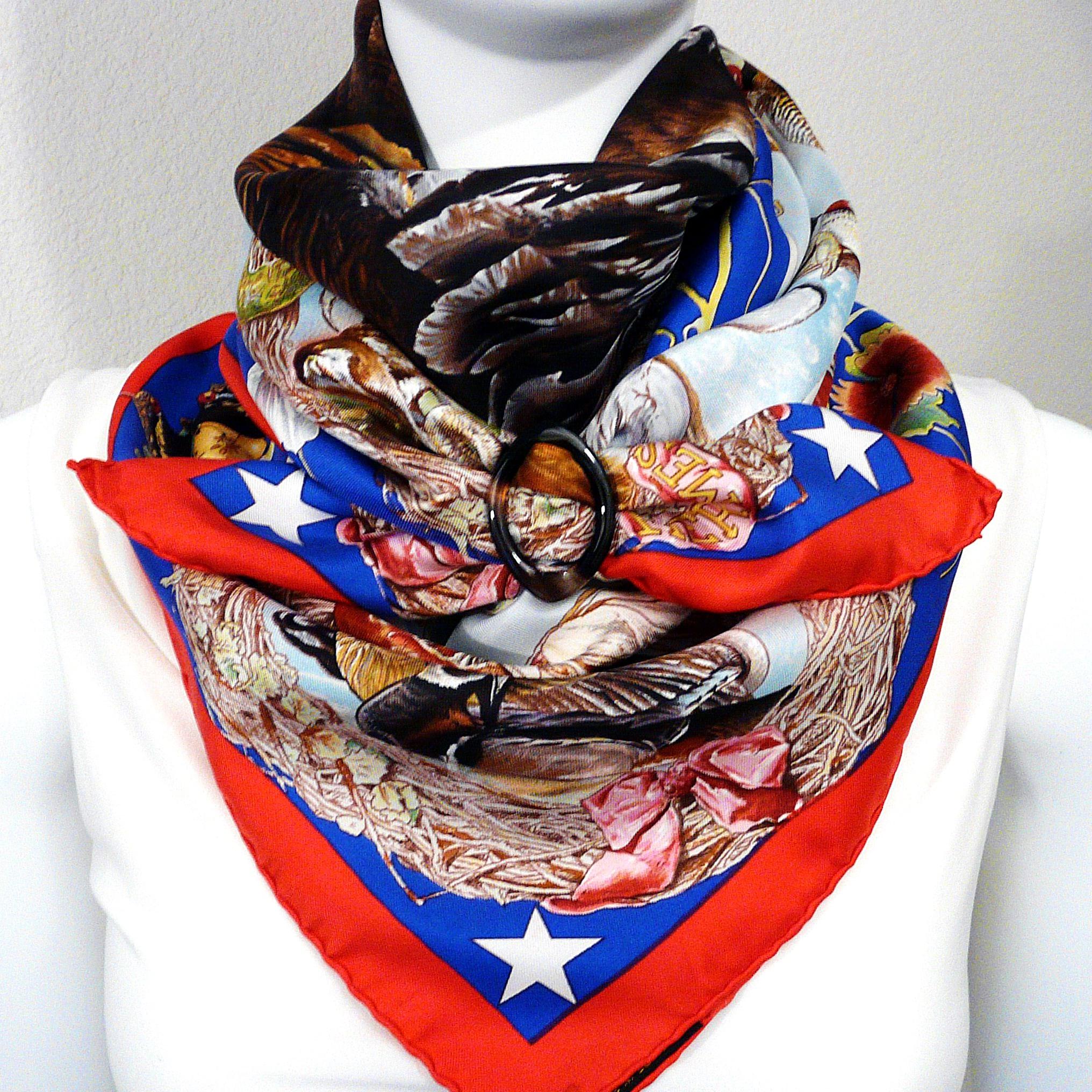 hermes inspired scarf